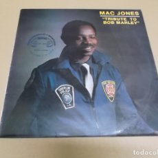Discos de vinilo: MAC JONES (MAXI) TRIBUTE TO BOB MARLEY. +1 TRACK AÑO – 1986. Lote 182048162