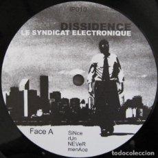 Discos de vinilo: LE SYNDICAT ELECTRONIQUE – DISSIDENCE. Lote 182048471