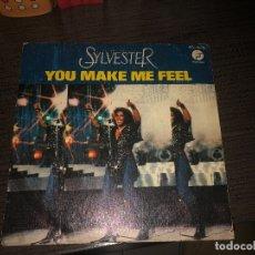 Discos de vinilo: SYLVESTER YOU MAKE ME FEEL. Lote 182048937