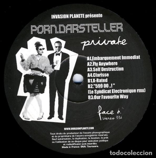 PORN.DARSTELLER – PRIVATE (Música - Discos de Vinilo - EPs - Electrónica, Avantgarde y Experimental)