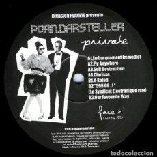Discos de vinilo: PORN.DARSTELLER – PRIVATE. Lote 182049905