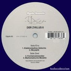 Discos de vinilo: DER ZYKLUS-DER ZYKLUSII. Lote 182051201