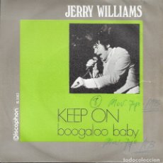 Discos de vinilo: JERRY WILLIAMS KEEP ON DISCOPHON 1969. Lote 182054085