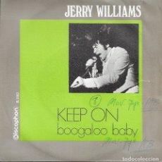 Discos de vinilo: JERRY WILLIAMS KEEP ON DISCOPHON 1969. Lote 182054085