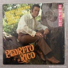 Discos de vinilo: PEDRITO RICO - 1968. Lote 182054697