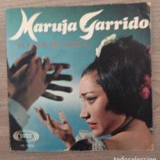 Discos de vinilo: MARUJA GARRIDO - LA VOZ DE FUEGO. Lote 182054763