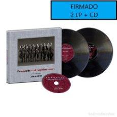 Discos de vinilo: FIRMADO FANGORIA - EXTRAPOLACIONES Y DOS PREGUNTAS 2001-2019 2LP+CD+DVD PRE8/11. Lote 182057858