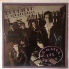 Discos de vinilo: LOQUILLO Y TROGLODITAS. LA MAFIA DEL BAILE. LP 1985. Lote 182058803