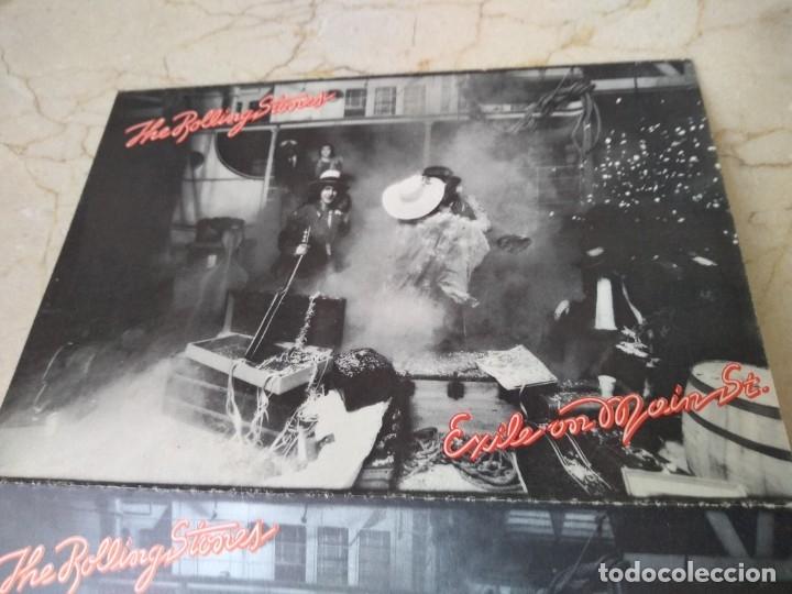 Discos de vinilo: Lote antiguas postales Rolling Stones año 1972 Jail on Main Srreet. Excelente conservacion - Foto 2 - 182062547