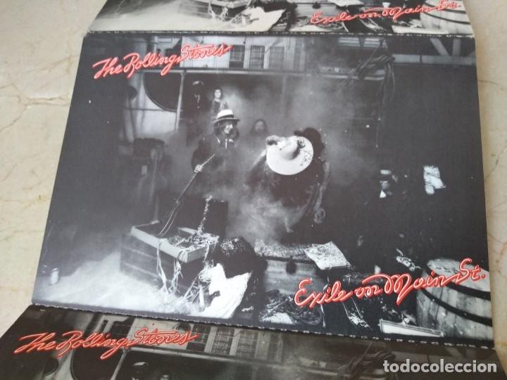 Discos de vinilo: Lote antiguas postales Rolling Stones año 1972 Jail on Main Srreet. Excelente conservacion - Foto 3 - 182062547