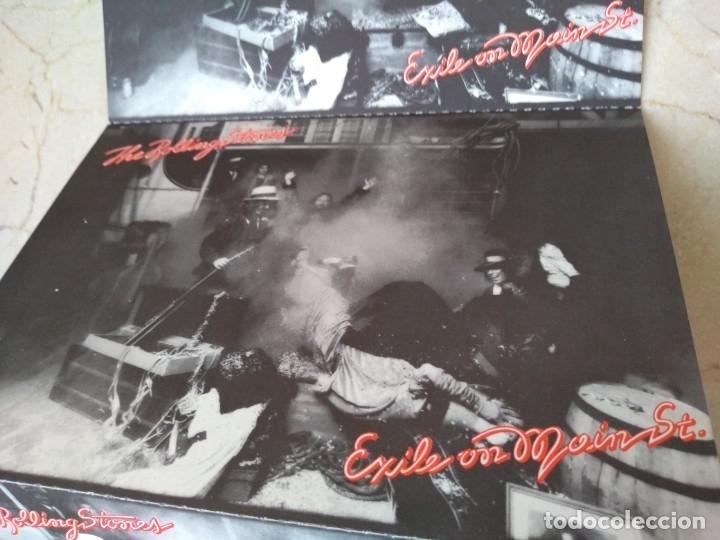 Discos de vinilo: Lote antiguas postales Rolling Stones año 1972 Jail on Main Srreet. Excelente conservacion - Foto 4 - 182062547