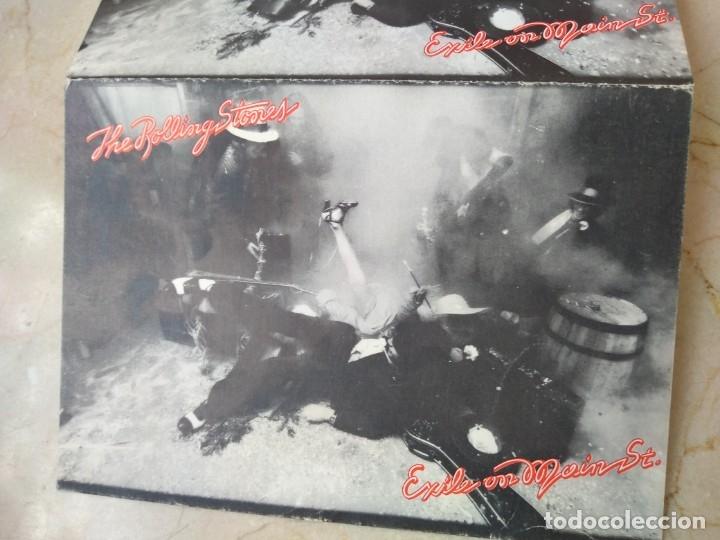 Discos de vinilo: Lote antiguas postales Rolling Stones año 1972 Jail on Main Srreet. Excelente conservacion - Foto 6 - 182062547