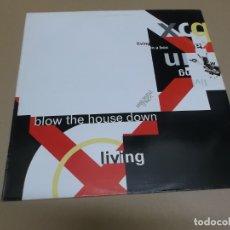 Discos de vinilo: LIVING IN A BOX (MAXI) BLOW THE HOUSE DOWN +3 TRACKS AÑO – 1989. Lote 182062990