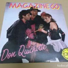 Discos de vinil: MAGAZINE 60 (MAXI) DON QUICHOTTE +1 TRACK AÑO – 1985. Lote 182064785