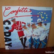 Discos de vinilo: CONFETTI´S - MAXI-SINGLE. Lote 182065553