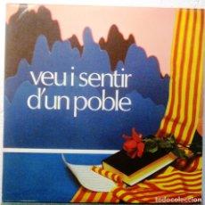 Discos de vinilo: VEU I SENTIR D'UN POBLE - LP ALBUM CON FOTOS. Lote 182065592
