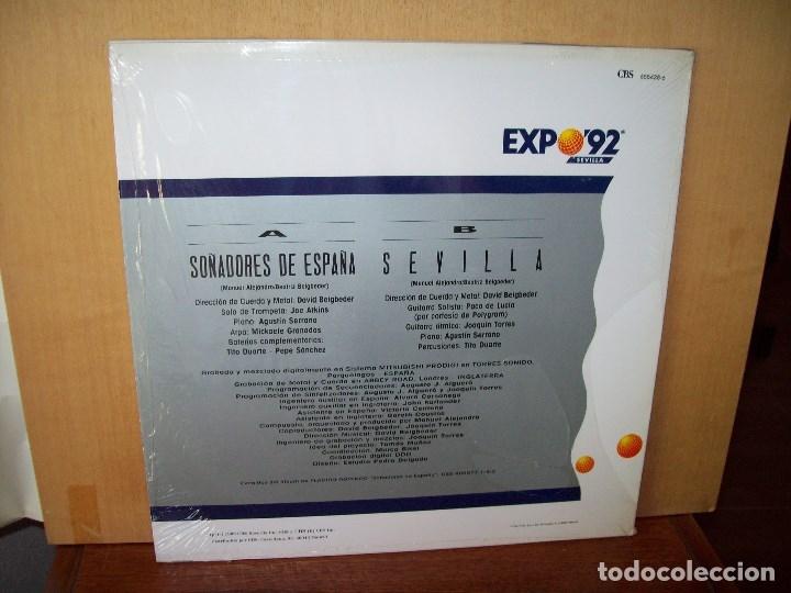 Discos de vinilo: PLACIDO DOMINGO CON JULIO IGLESIAS - SOÑADORES DE ESPAÑA - MAXI SINGLE - Foto 2 - 182066281
