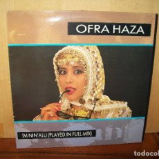 Discos de vinilo: OFRA HAZA - IM NINÁLU (PLAYED IN FULL MIX) - MAXI-SINGLE. Lote 182066461
