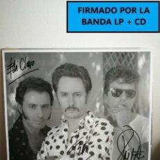Discos de vinilo: LP FIRMADO - GABINETE CALIGARI - SOLO SE VIVE UNA VEZ - LP+CD FIRMADO (URRUTIA). Lote 182066496