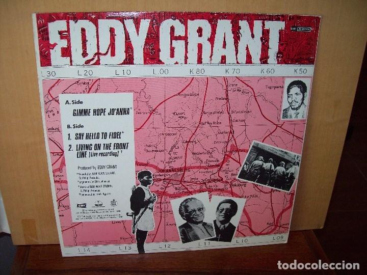 Discos de vinilo: EDDY GRANT - GIMME HOPE JO'ANNA - MAXI-SINGLE - Foto 2 - 182066857
