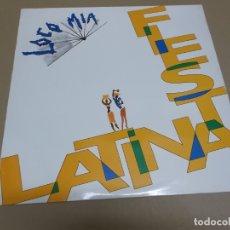 Discos de vinilo: LOCO MIA (MAXI) FIESTA LATINA +2 TRACKS AÑO – 1991. Lote 182066937