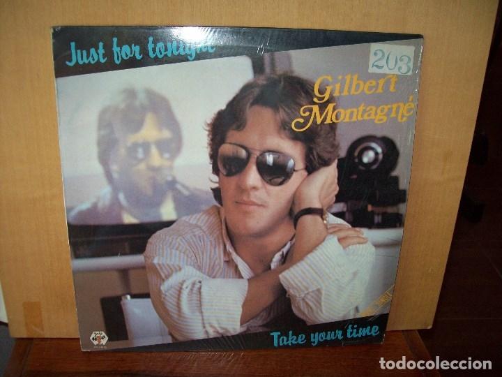 GILBERT MONTAGNE - JUST FOR TONIGHT - MAXI-SINGLE (Música - Discos de Vinilo - Maxi Singles - Canción Francesa e Italiana)