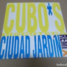 Discos de vinilo: CIUDAD JARDIN (MAXI) CUBO'S DISCOTECA +1 TRACK AÑO – 1993 . Lote 182067306
