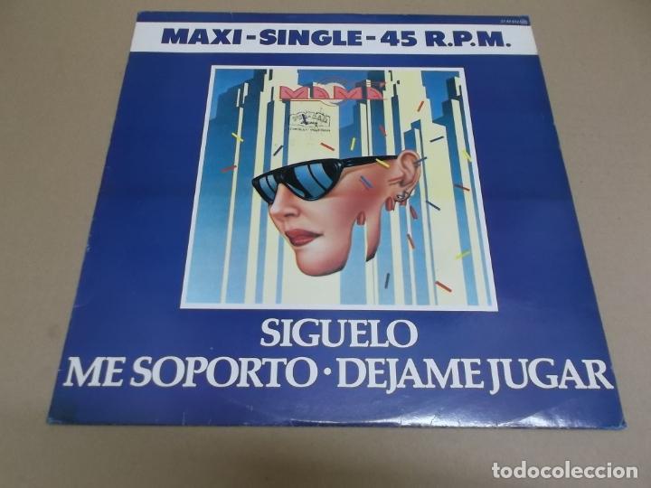 MAMA (MAXI) SIGUELO +2 TRACKS AÑO – 1982 (Música - Discos de Vinilo - Maxi Singles - Grupos Españoles de los 70 y 80)