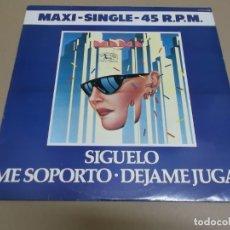 Discos de vinilo: MAMA (MAXI) SIGUELO +2 TRACKS AÑO – 1982. Lote 182068136