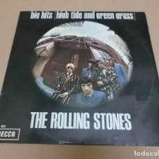Discos de vinilo: THE ROLLING STONES (LP) BIG HITS HIGH TIDE AND GREEN GRASS AÑO – 1966. Lote 182068903
