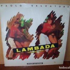 Discos de vinilo: LAMBADA - PAOLO SALVATORE - VERSION EN ESPAÑOL - MAXI-SINGLE. Lote 182070443