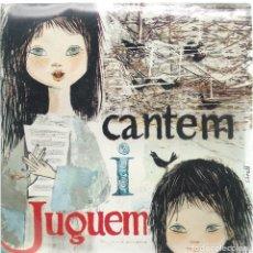 Discos de vinilo: SALVADOR ESCAMILLA, CANTEM I JUGUEM (EDIGSA 1962) -TRICENTER-. Lote 182070701