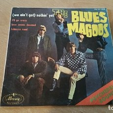 Dischi in vinile: THE BLUES MAGOOS WE AIN'T GOT NOTHIN YET SPAIN SOLO PORTADA. Lote 182073185