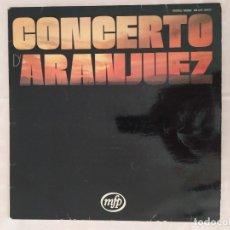 Discos de vinilo: CONCERTO D'ARANJUEZ. Lote 182073941