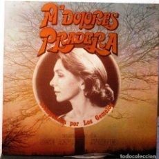 Discos de vinilo: Mª DOLORES PRADERA - Y LOS GEMELOS - CANCIONES DE JOSE A. JIMENEZ - ALBUM -LP . Lote 182074086