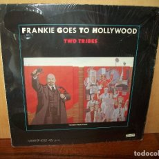 Discos de vinilo: FRANKIE GOES TO HOLLYWOOD - TWO TRIBES - MAXI-SINGLE. Lote 182074325