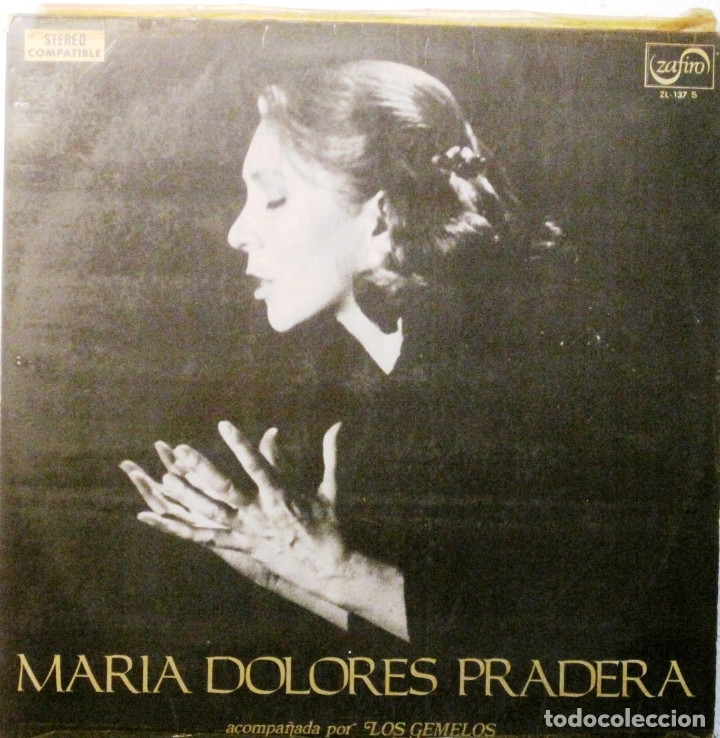 Mª DOLORES PRADERA - Y LOS GEMELOS - LP (Música - Discos - LP Vinilo - Grupos Españoles 50 y 60)