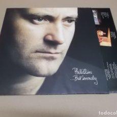 Discos de vinilo: PHIL COLLINS (LP) BUT SERIOUSLY AÑO – 1989 – ENCARTE CON LETRAS. Lote 182075155