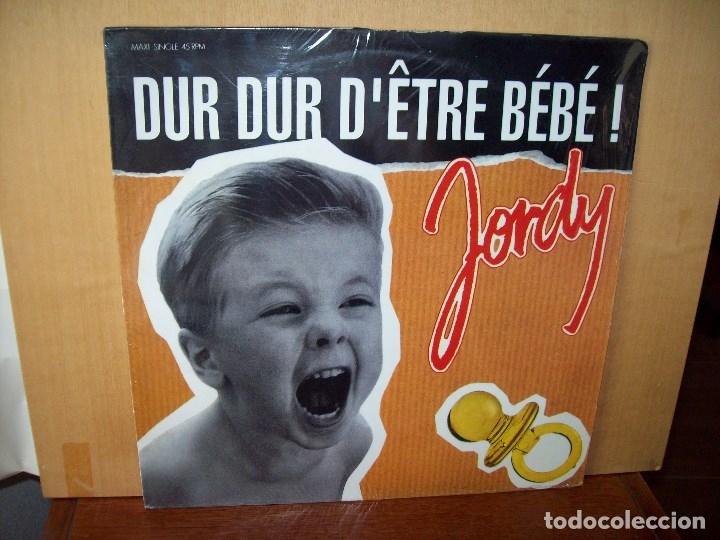 JORDY - DUR DUR D'ETRE BEBE - MAXI-SINGLE (Música - Discos de Vinilo - Maxi Singles - Canción Francesa e Italiana)