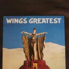 Discos de vinilo: LP WINGS GREATEST PAUL MCCARTNEY BEATLES EDICIÓN ESPAÑA 1978. Lote 182075425