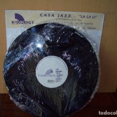 Discos de vinilo: CASA JAZZ - LA LA LI - PROBLEM KID VOX - MAXI-SINGLE. Lote 182076218
