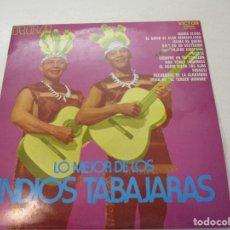 Discos de vinilo: DISCO VINILO. LO MEJOR DE LOS INDIOS TABAJARAS.. Lote 182086315