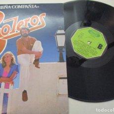 Discos de vinilo: DISCO VINILO. PEQUEÑA COMPAÑIA. BOLEROS.. Lote 182086493