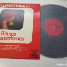 Discos de vinilo: DISCO VINILO. RITMOS SUDAMERICANOS. ORQUESTA DE FERNANDO OLIVIERA.. Lote 182086873