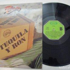Discos de vinilo: DISCO. PEQUEÑA COMPAÑIA . TEQUILA Y RON. Lote 182087683