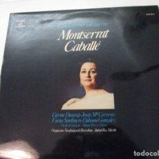 Discos de vinilo: DISCO VINILO. MONTSERRAT CABALLÉ. Lote 182087935