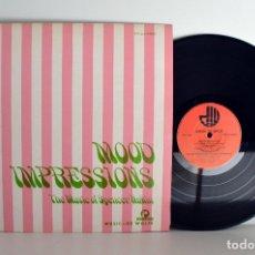 Discos de vinilo: MUSIC DE WOLFE, MOOD IMPRESSIONS, INTERNATIONAL STUDIO, BIBLIOTECAS MUSICALES EX/EX . Lote 182091637