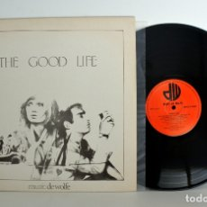 Discos de vinilo: MUSIC DE WOLFE, THE GOOD LIFE, SOUNDS COOL, DWS/LP3440, BIBLIOTECAS MUSICALES NM/NM. Lote 182095480