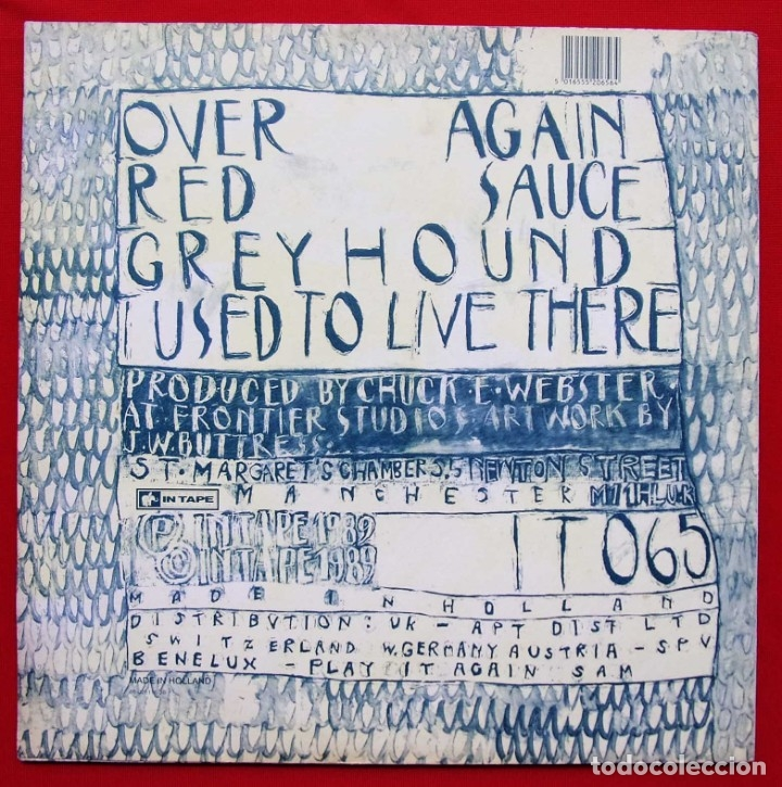 Discos de vinilo: ASPHALT RIBBONS. THE ORCHARDER. EP. VINILO. AÑO: 1989. IN TAPE. INDIE ROCK. - Foto 2 - 182095488