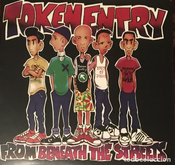 TOKEN ENTRY - FROM BENEATH THE STREETS - PURPLE MARBLE VINYL REISSUE (Música - Discos - LP Vinilo - Punk - Hard Core)